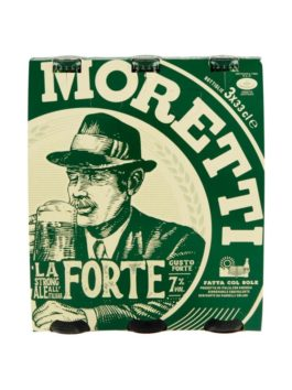 Bere Moretti dublu malț pachet 33cl x3
