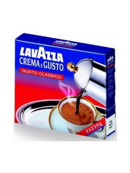 Cafea Lavazza crema e gusto pachet 250g x2