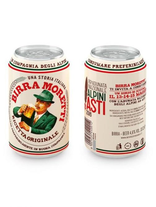 Bere Moretti Lattina 33cl x2-0