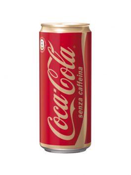Coca Cola fără cofeină 1 doză x 330ml