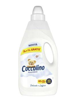 Balsam de rufe Coccolino delicat și catifelat 4L 53 spălări
