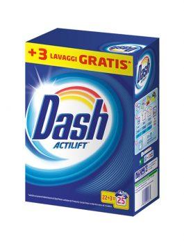 Detergent rufe Dash 22+3 spălări 1,625kg