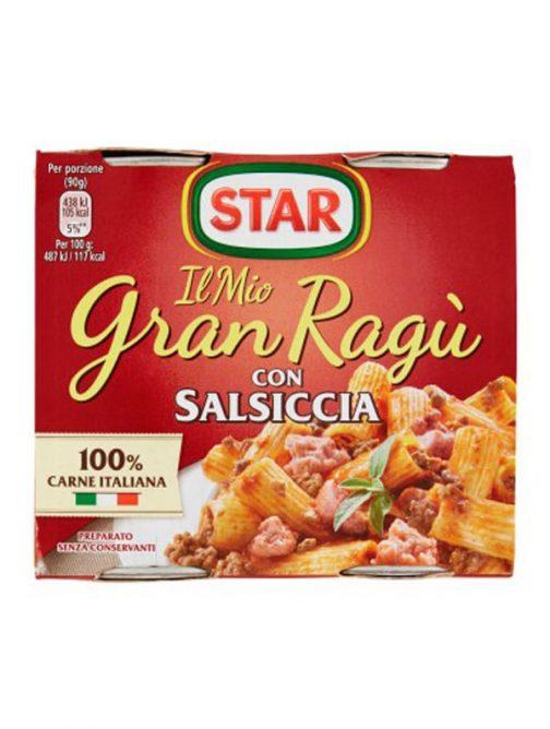Gran Ragu cu cârnați Star 2 x 180g-0