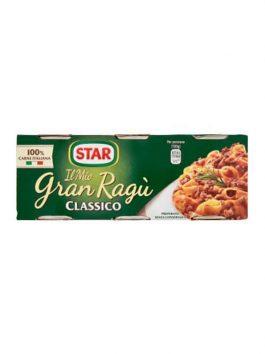 Gran Ragu Classico Star 3 x 100g