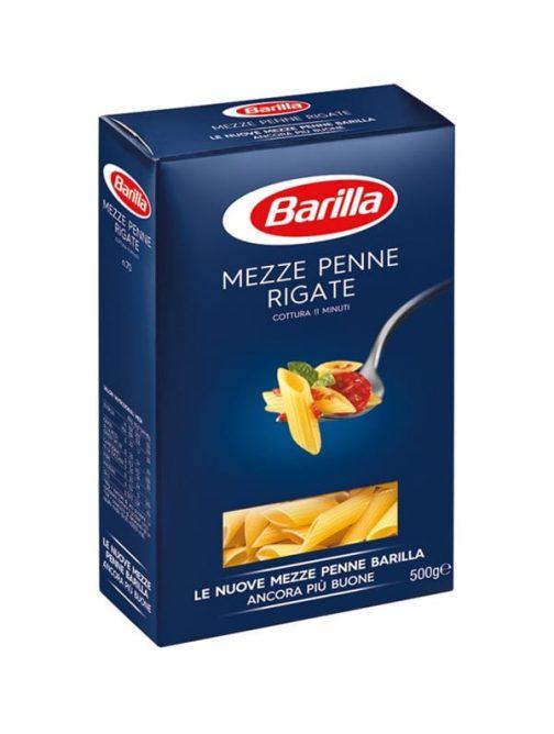 Mezze Penne Rigate Barilla n.70 500g-0