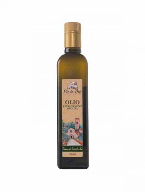 Ulei de măsline extravirgin Pieve Tho 500ml-0