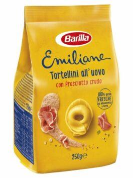 Tortellini cu ou și prosciutto crudo Barilla Le Emiliane 250g