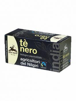 Ceai negru bio Alce Nero 20 pliculețe