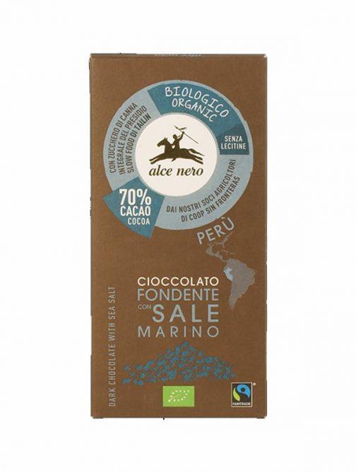 Ciocolată bio cu sare marină