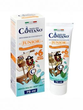 Pastă de dinți junior 6+ Pasta del Capitano 75ml