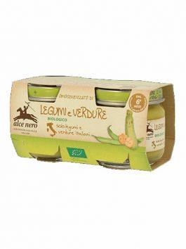 Pastă de legume și verdeață bio Alce Nero 160g