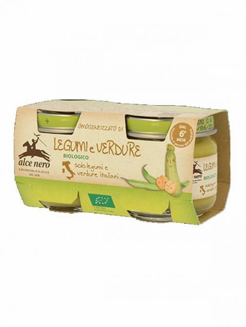 Pastă de legume bio Alce Nero