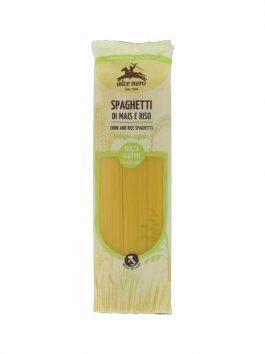Spaghete bio din porumb și orez fără gluten Alce Nero 250g