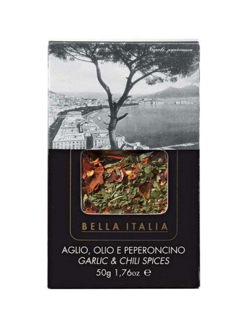 Condimente Aglio olio e peperoncino 50gr Bella Italia