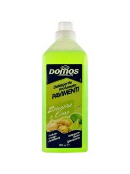 Detergent pentru podele ghimbir și lămâie Domos 1L
