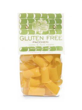 Paccheri fără gluten din porumb și orez bio 500g