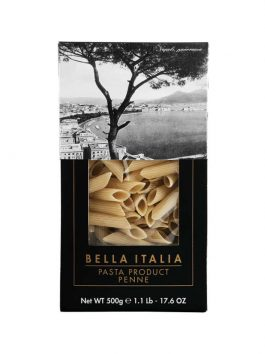 Penne Rigate cutie Bella Italia 500g