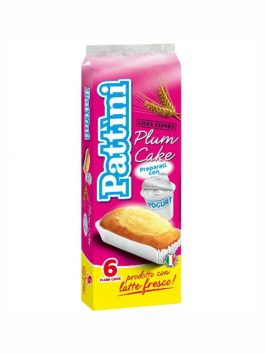 Prăjitură cu iaurt Pattini 6 x 31g