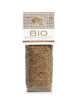 Quadrucci Farro integrale bio 500g