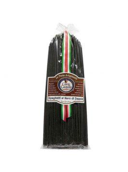 Spaghete cu cerneală de sepie Corte Castello 500g