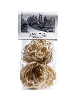 Tagliatelle cu vin 250g etichetă Bella Italia