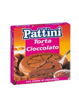 Tort cu cremă de ciocolată Pattini 600g