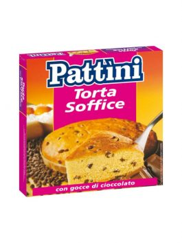 Tort cu bucăți de ciocolată Pattini 500g