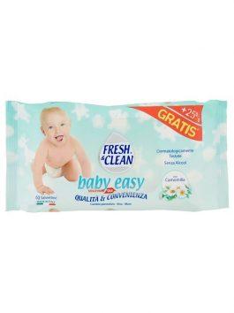 Șervețele umede pentru copii Fresh & Clean Baby Easy 60buc