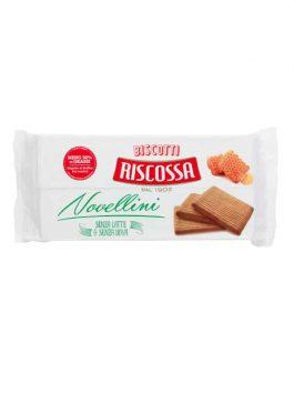 Biscuiți vegani fără lapte și fără ouă Riscossa 350g