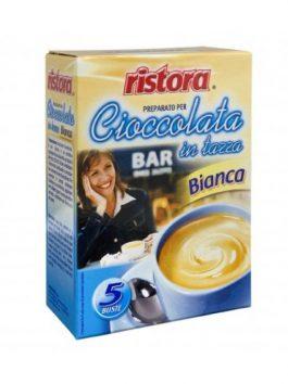 Ciocolată albă Ristora 5 pliculețe