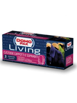 Huse protecție paltoane Domopak Living 65x140cm 3buc