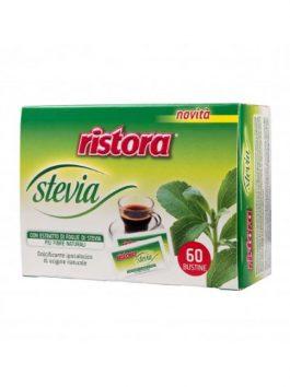 Îndulcitor stevia Ristora 60 pliculețe