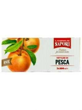 Nectar de piersici Giardino dei Sapori 3 x 200ml
