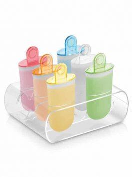Set 6 forme pentru înghețată pe băț Tescoma