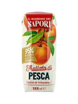 Suc de piersici 95% fruct Giardino dei Sapori 125ml