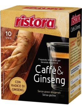 Cafea instant cu ginseng Ristora 10 pliculețe