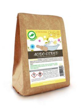 Acid citric ecologic pentru rufe VerdeVero 1kg