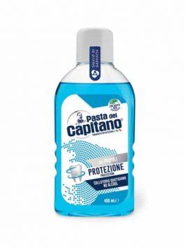 Apă de gură pentru respirație proaspătă Pasta del Capitano 400ml