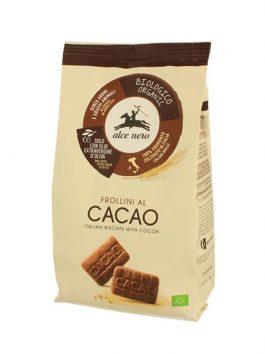 Biscuiți bio cu cacao Alce Nero 350g