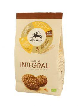 Biscuiți bio din făină integrală Alce Nero 350g