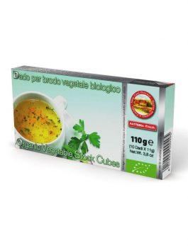 Cubulețe bio pentru supă de legume Fattoria Italia 10x11g