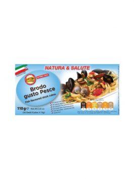 Cubulețe pentru supă de pește Natura & Salute Fattoria Italia 10x11g
