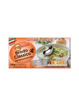 Cubulețe pentru supă de vită Natura & Salute Fattoria Italia 10x11g