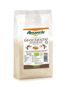 Făină integrală de hrișcă Almaverde Bio 500g