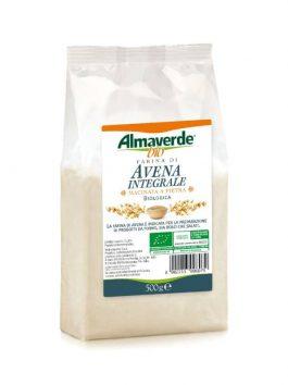 Făină integrală de ovăz Almaverde Bio 500g