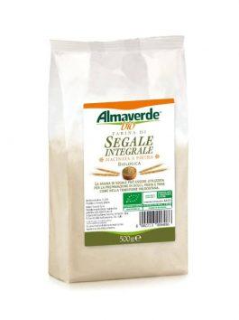Făină integrală de secară Almaverde Bio 500g