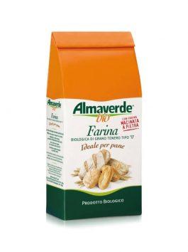 Făină tip 0 pentru pâine Almaverde Bio 1kg