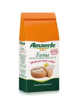 Făină tip 0 pentru prăjituri Almaverde Bio 1kg