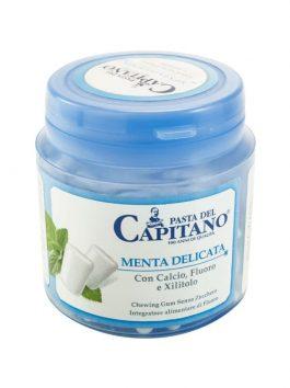 Gumă de mestecat Pasta del Capitano Mild Mint 105g