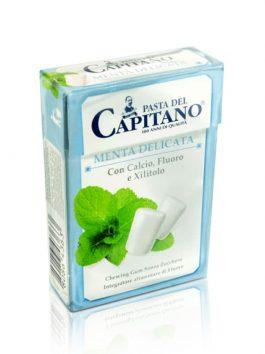 Gumă de mestecat Pasta del Capitano Mild Mint 30g